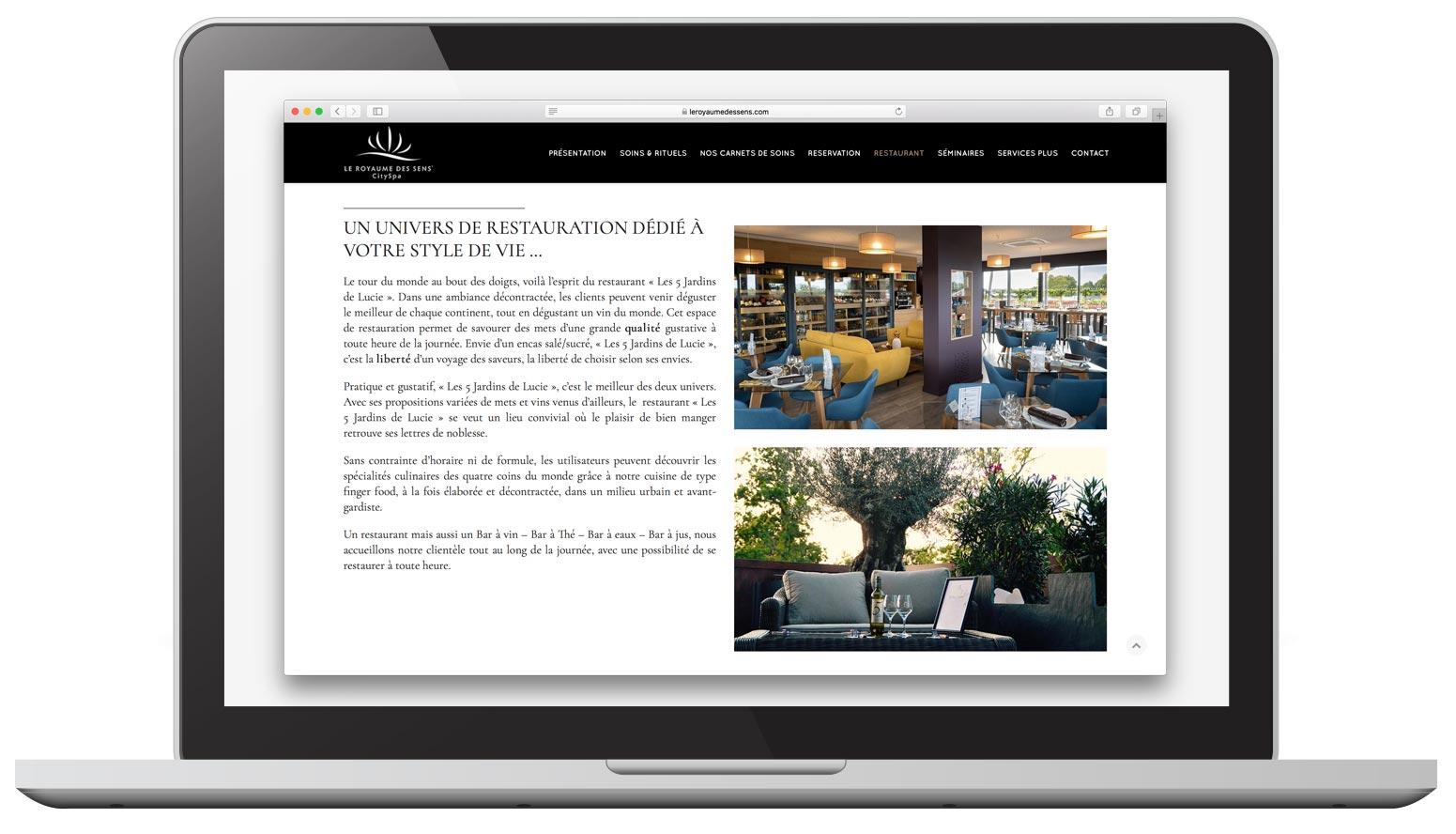 Agence de communication Brand to Design à Bordeaux : Création de sites web