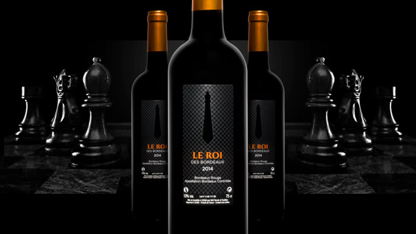Agence de communication Brand to Design Bordeaux Cashvin étiquette vin
