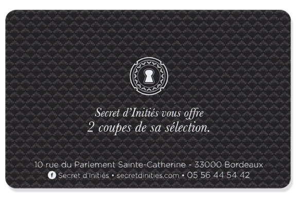 Agence de communication Brand to Design Bordeaux Secret d'initiés champagne