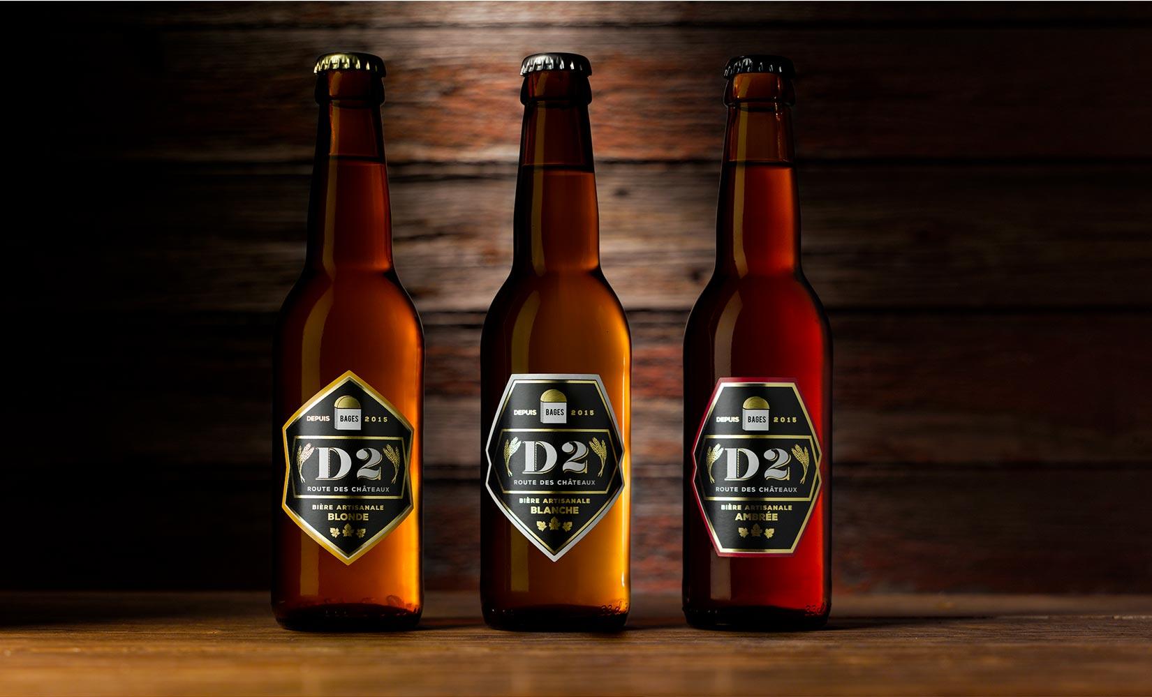 Agence de communication Brand to Design Bordeaux Bière JMC
